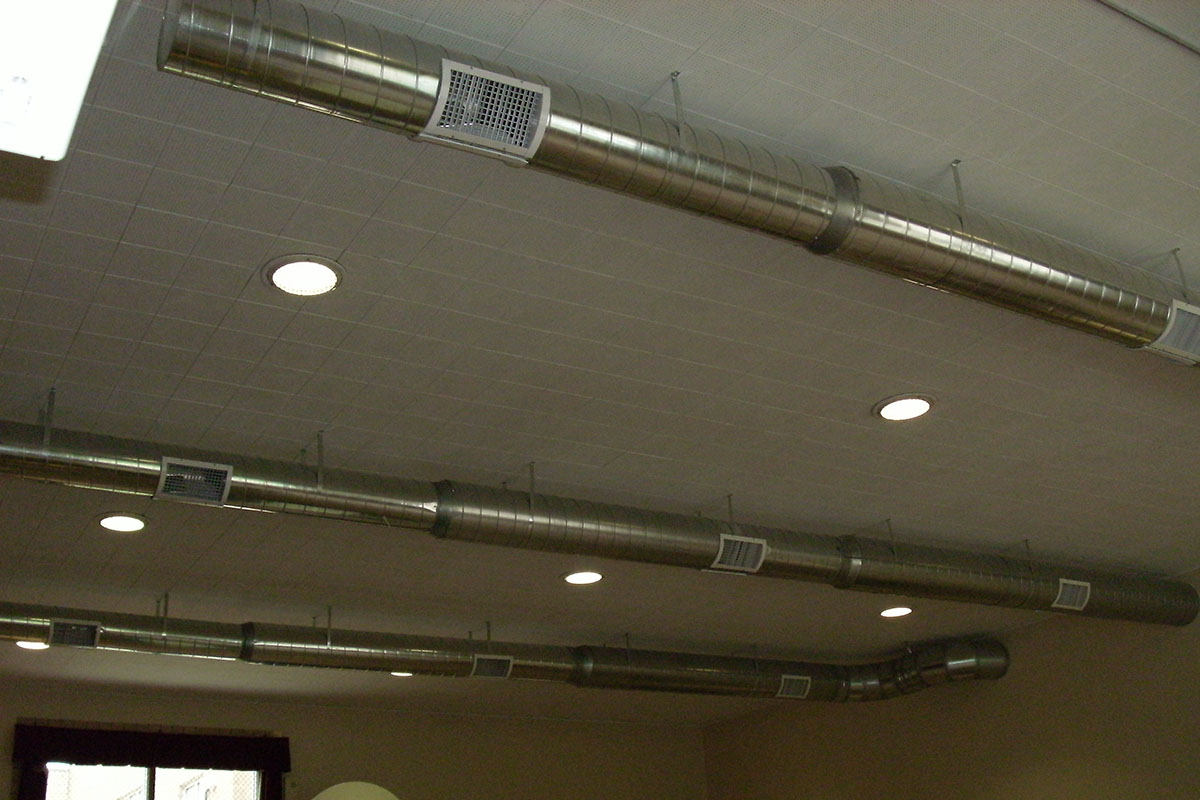 Ables Heating Cooling Electrical Commercial Duct Work 2