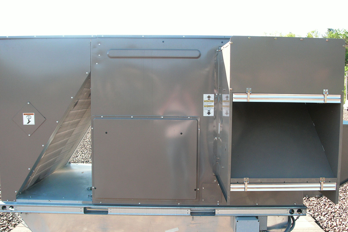 Ables Heating Cooling Electrical Commercial Roof Top Unit Install 2.JPG