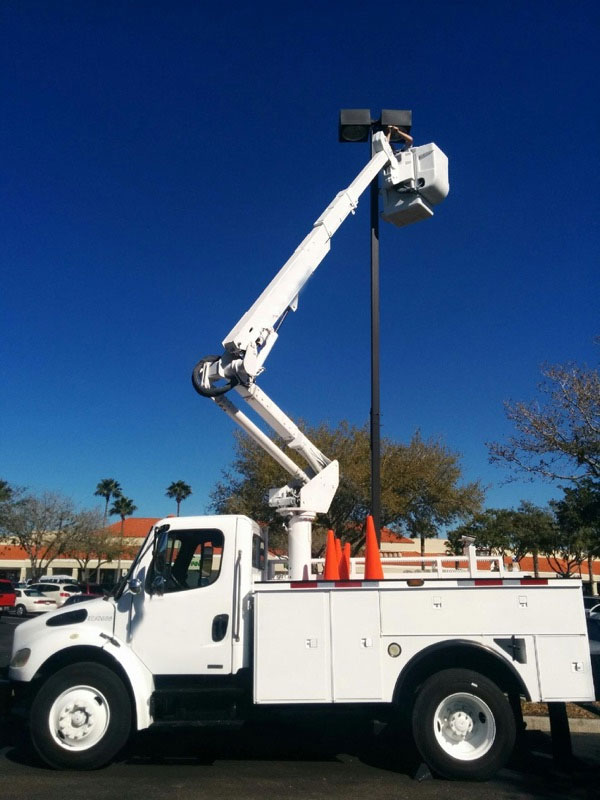 Ables Service Electrical Bucket Pole Truck Services